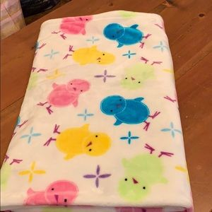 Easter Chick Soft Throw